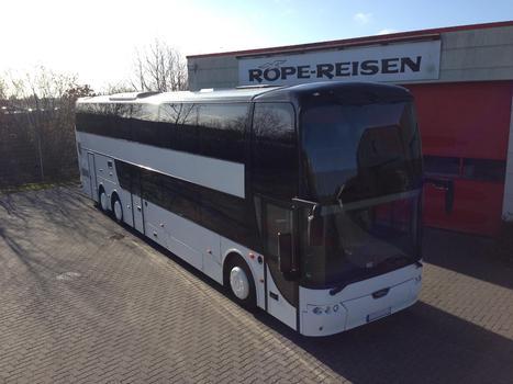 Bova Synergy Reisebus - Unser Doppeldecker
